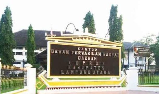 DPRD Lampura Menggelar Rapat Pengisian Alat Kelengkapan Dewan