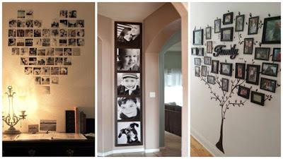 7-ideas-decoración-con-fotografías