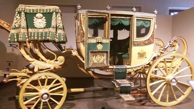 Carruagem no Museu Imperial em Petrópolis, região serrana do Rio de Janeiro