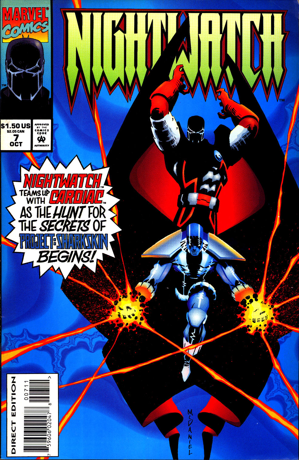 Nightwatch 007 (1994) | Viewcomic reading comics online for