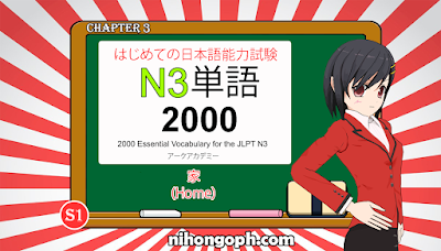 N3 Vocabulary 家 (Home)