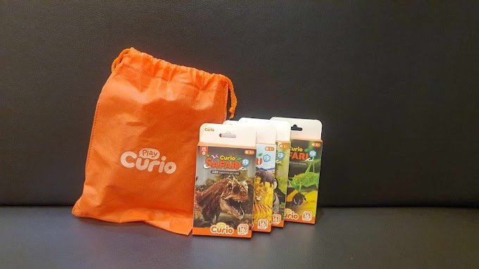Play Curio, Curio Safari Mainan Edukasi Ramah Anak