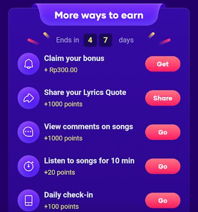 cara mendapatkan uang di aplikasi resso