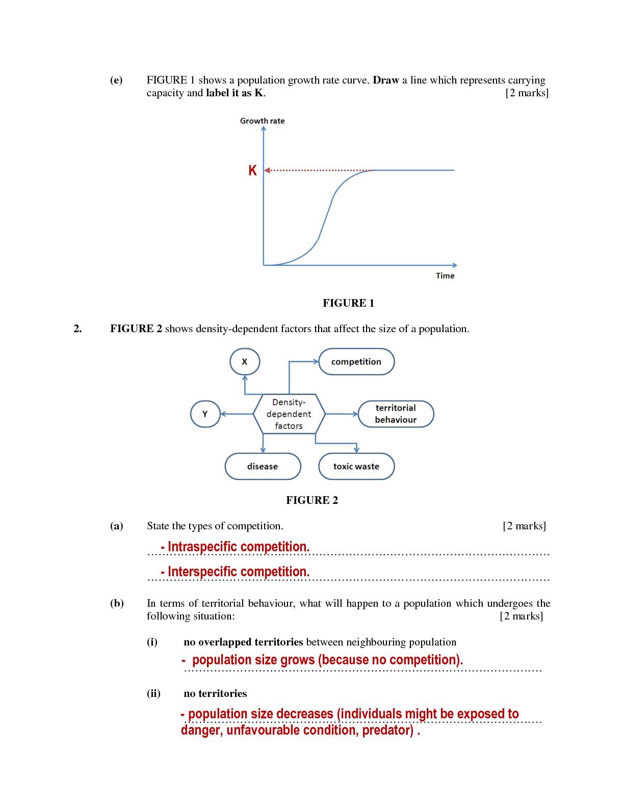 Anxiousbiologist Quiz 2 Population Ecology And Biocatalysis