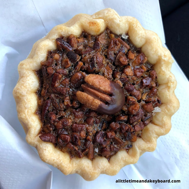 Mini Chocolate Pecan Pie deliciousness at Batch Bakehouse