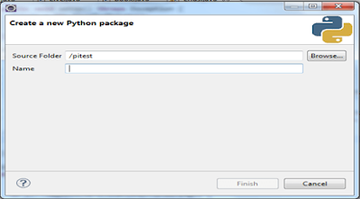 create a new Python package