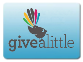 Donate via Givealittle (zero fees)