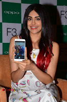 Bollywood Actress Adah Sharma Pos in White Printed Short Dress at OPPO F3 Plus Selfie Expert Mobile Launch .COM 0020.jpg