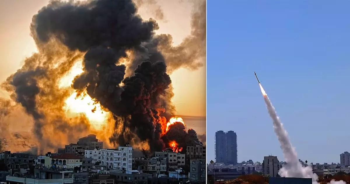 Israel Prepares To Invade Gaza After Hamas Rockets Target Tel Aviv And Jerusalem