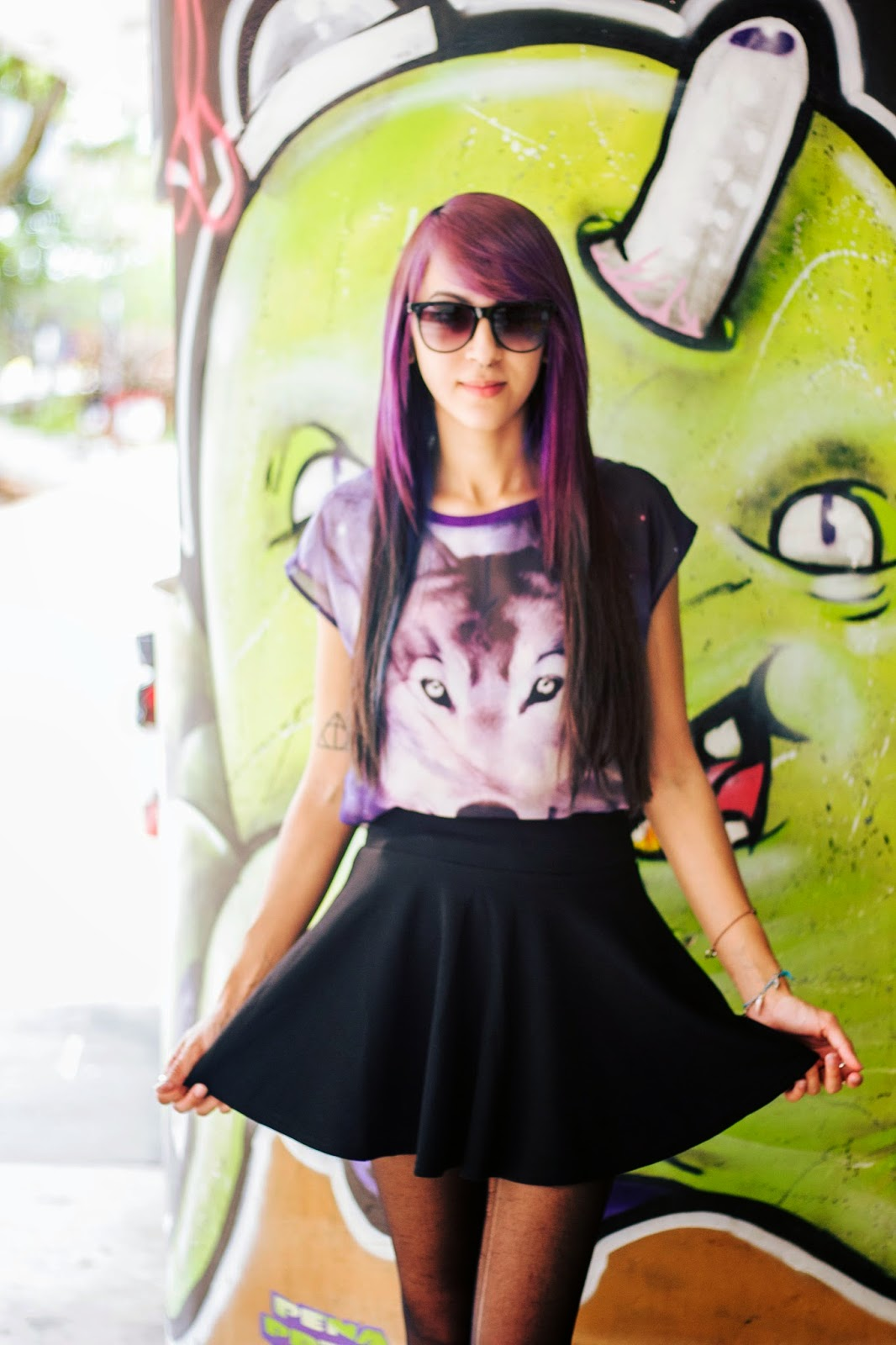 Look do Dia: Wolf