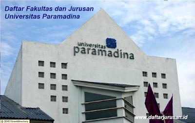 Daftar Fakultas dan Jurusan Universitas Paramadina Jakarta
