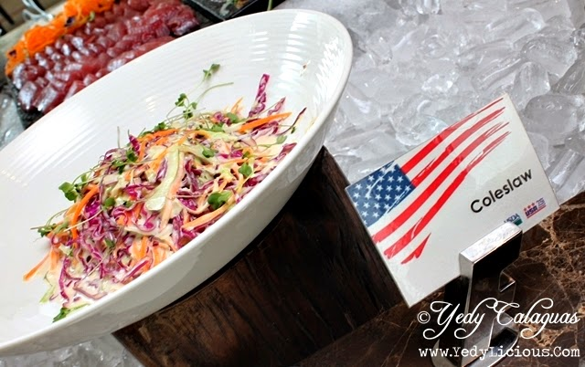 Coleslaw United Taste of America Buffet at F1 Hotel Manila