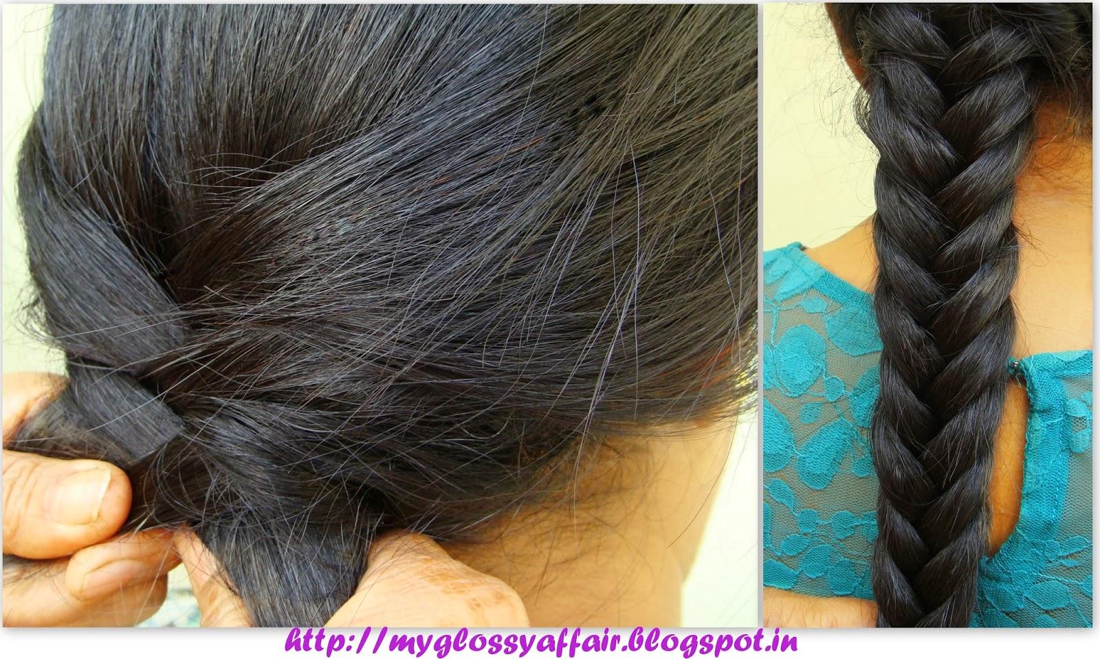 Hairstyles Braids Easy Tutorial: Easy To Do Fishtail Braid