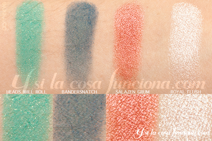 Alice Through the Looking Glass Palette Iracebeth Eyeshadows Ysilacosafunciona