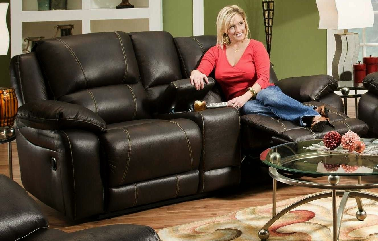 Simmons Blackjack Cocoa Reclining Sofa And Loveseat Modern Sleepers Cheap Recliner Sofas For Sale