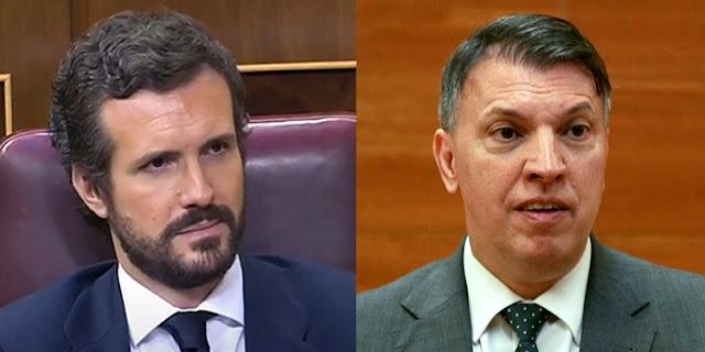 Pablo Casado y Joaquim Bosch