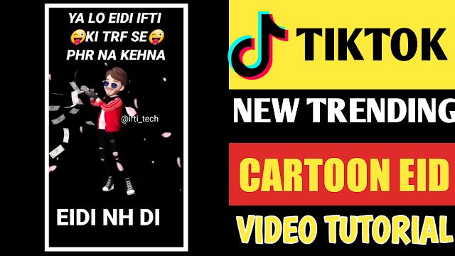 Cartoon Eid Video Editing