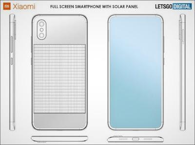 شياومي تقدم هاتف جديد يشحن نفسه بنفسه بالطاقة الشمسية