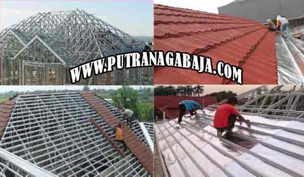 Harga Pasang Atap Baja Ringan Bogor Jasa Rangka 2020 Putra Naga