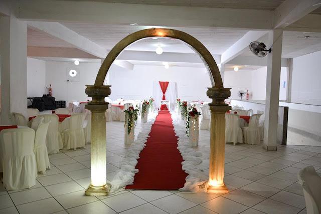 decoração cerimonia