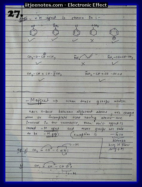 Electronic Effect Notes12