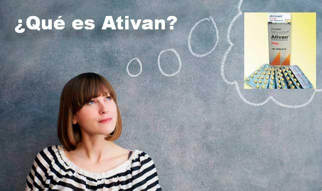 ¿Qué es Ativan? Uso