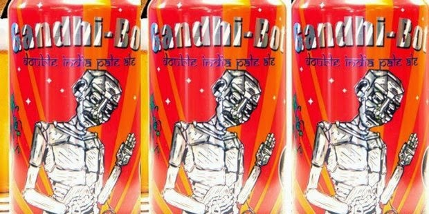 Descendants of Mahatma Gandhi have criticised an American brewery that put the image of India's teetotal independence campaigner on tins of beer