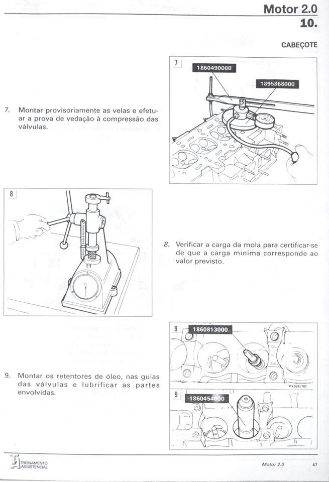 MANUAIS DO PROPRIETÁRIO: MANUAL DE REPARAÇÃO MAREA 2.0 (MOTOR)