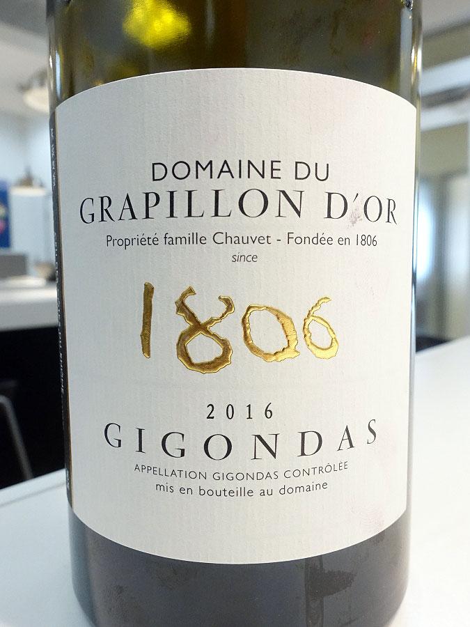 Domaine du Grapillon d'Or Gigondas 2016 (91 pts)