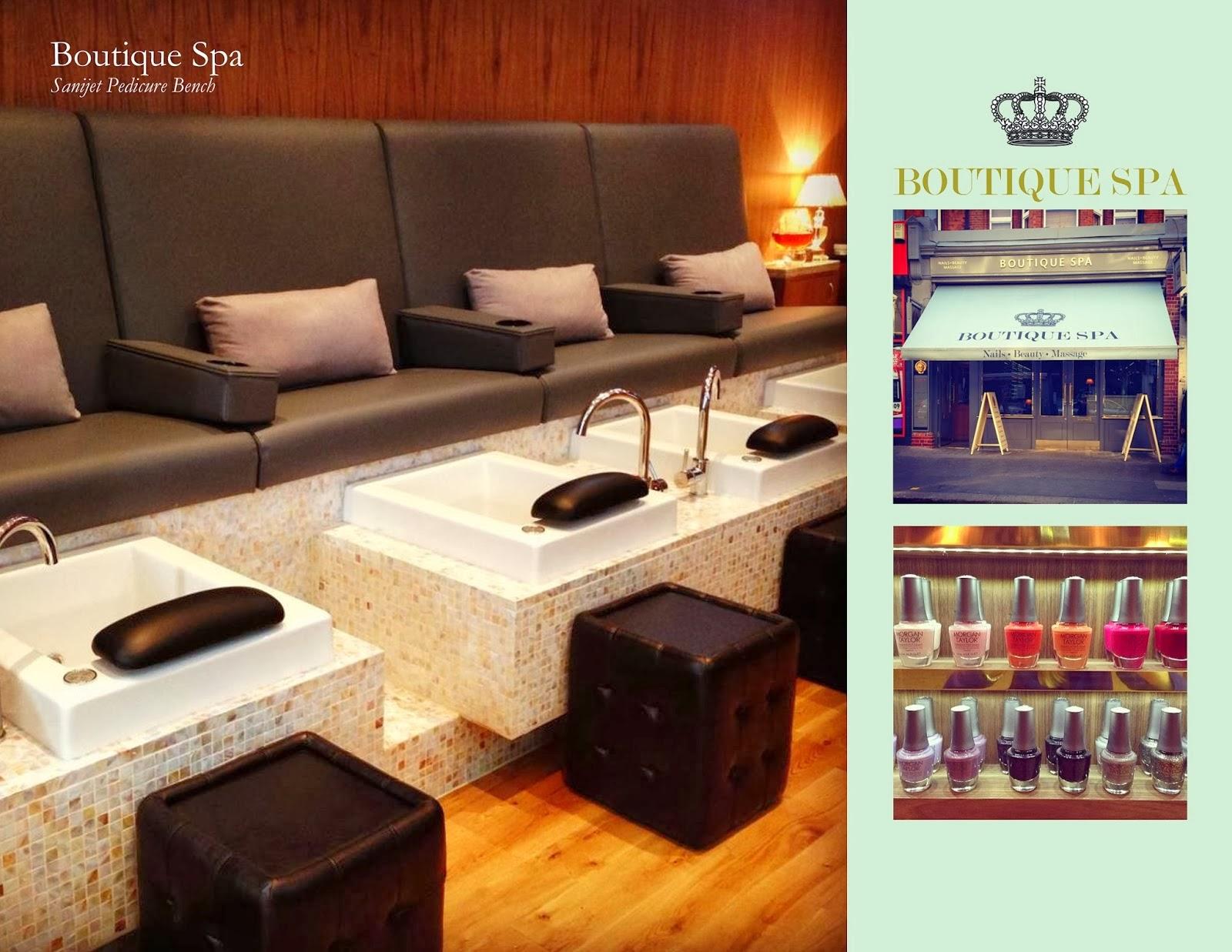 Michele pelafas nail spa salon design for Salon spa furniture