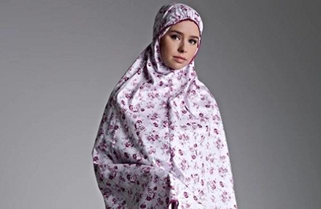 mukena muslimah