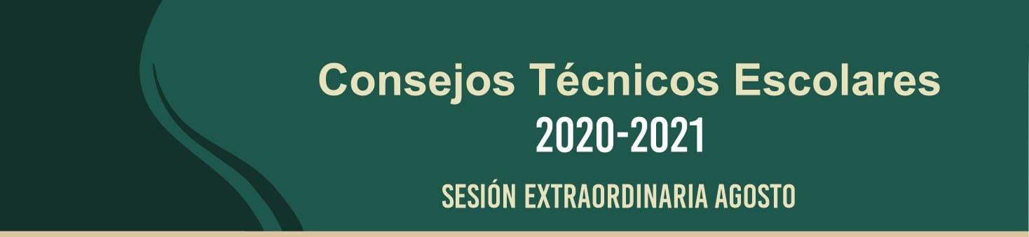 Consejo Técnico Escolar Sesión Extraordinaria Ciclo escolar 2020-2021
