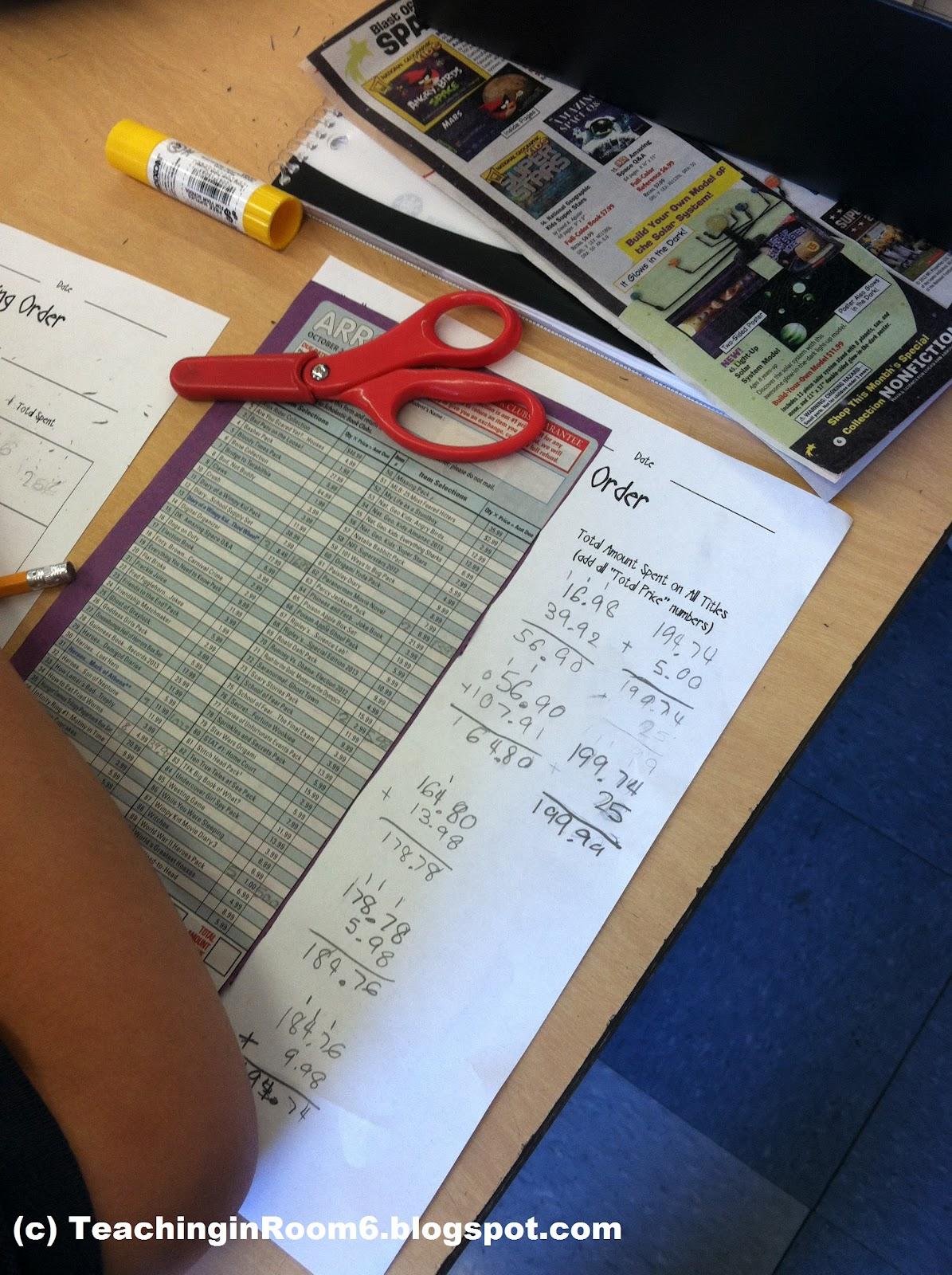 Book Club Order Math