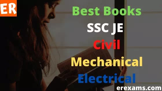 Best Books for SSC JE Civil, Mechanical and Electrical