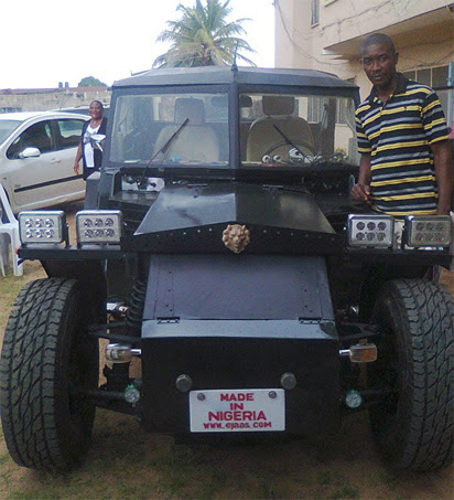 Checkout the made in Nigeria car called ''BIAFRAKWEZUONU''