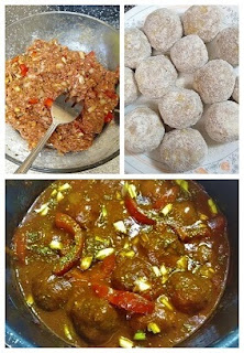 Process to make, seasoning and finished cuban meatballs collage )paleo, gluten-free, Whole30, dairy-free, grain-free).jpg