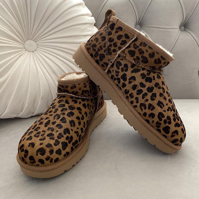 UGG Classic Ultra Mini boots leopard