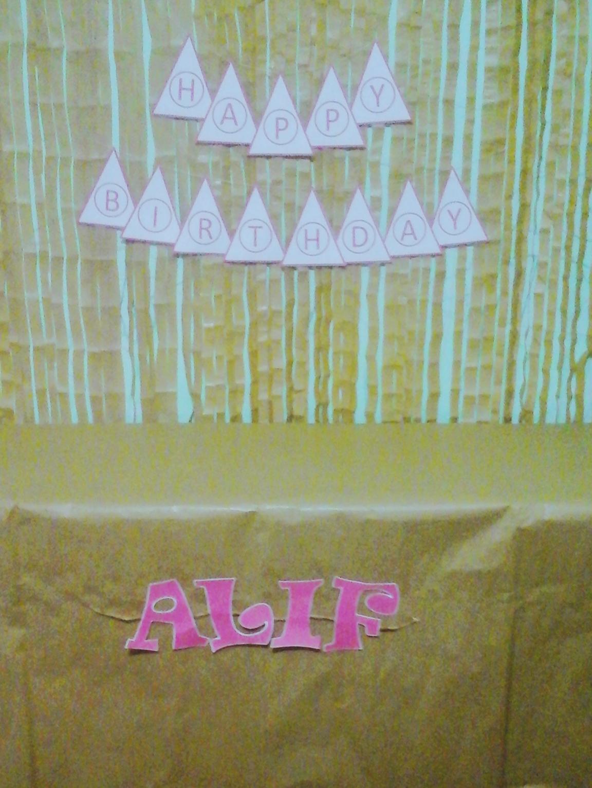 Dessert Table Murah Dan Simpel Untuk Ulang Tahun Alif