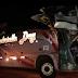 Ônibus da Gabrielle Day que faz linha Bico/Goiânia se envolve em acidente