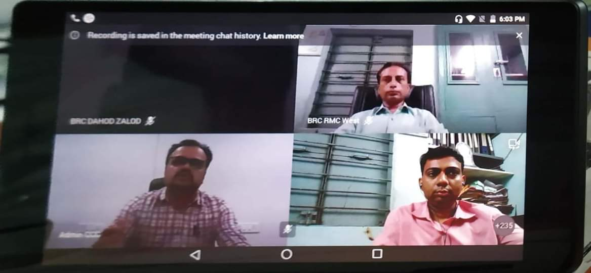 Video Conference with Rao sir