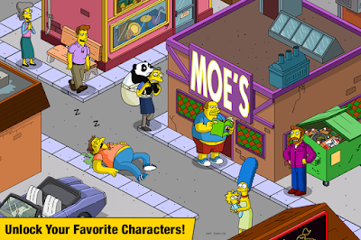 The Simpsons Tapped Out v4.39.5 MOD UPDATE
