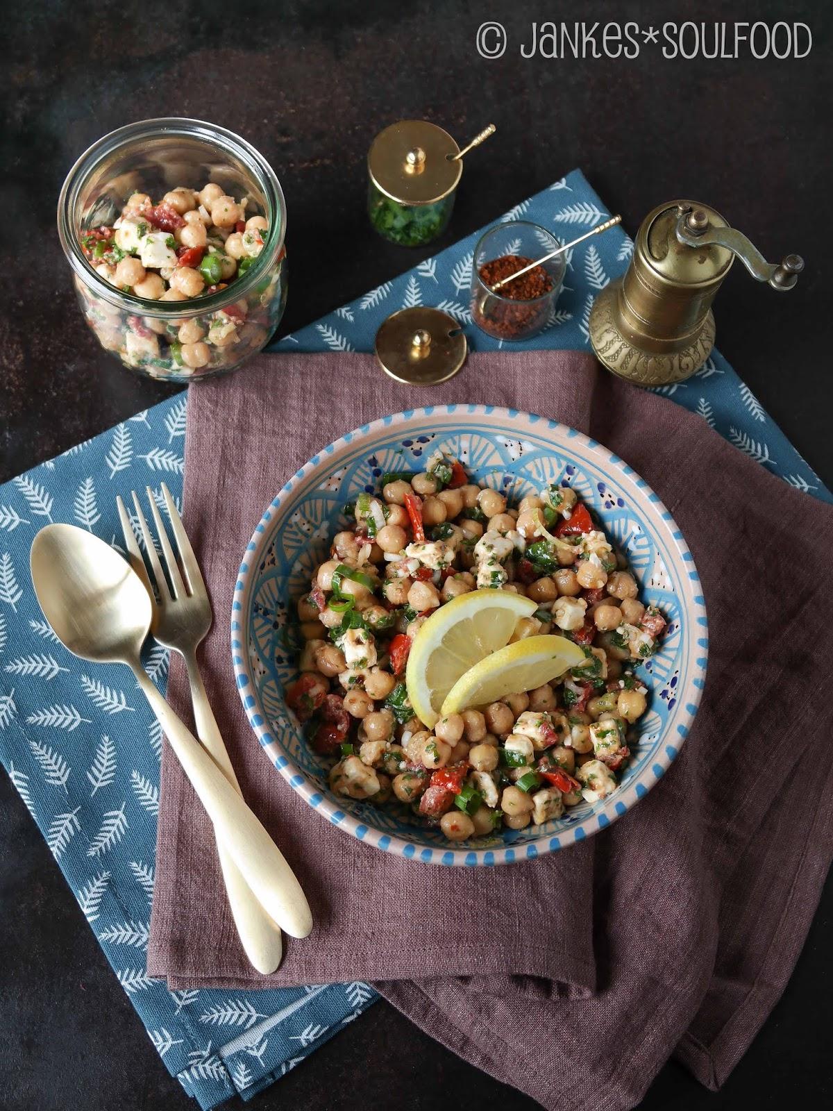 Kichererbsen-Salat von Jankes Soulfood