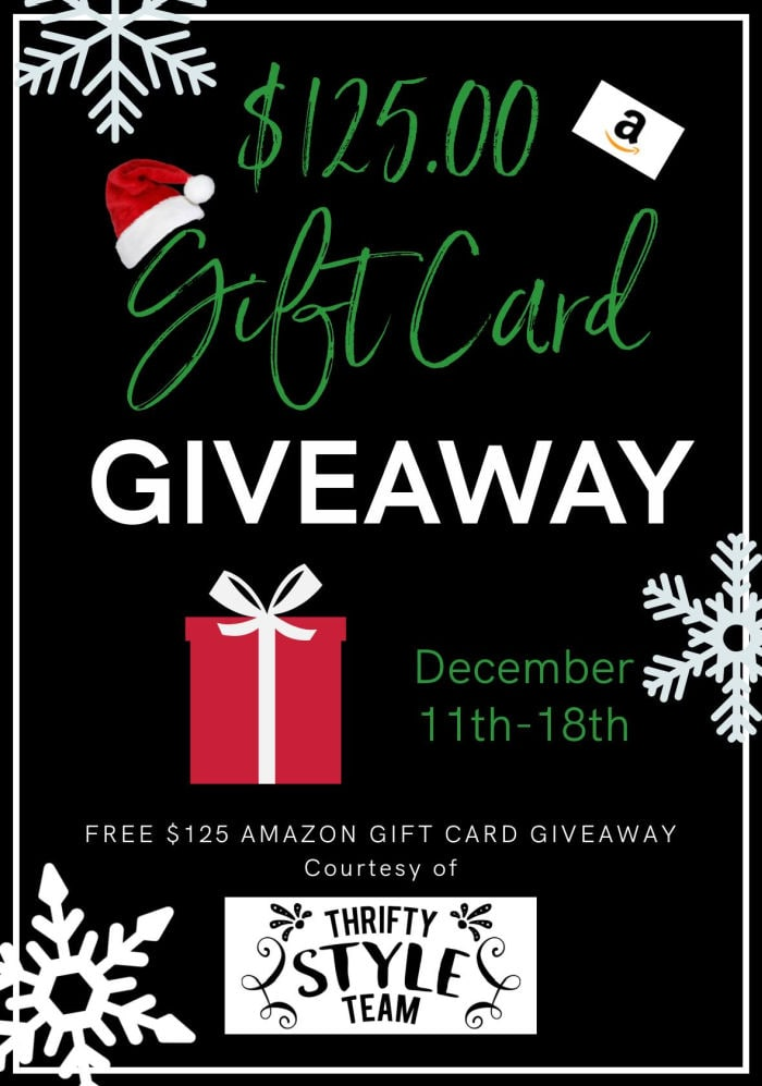 Thrifty Style Team Christmas giveaway