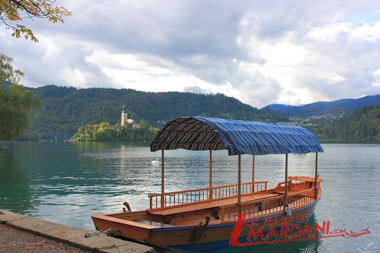 Pletna del lago Bled