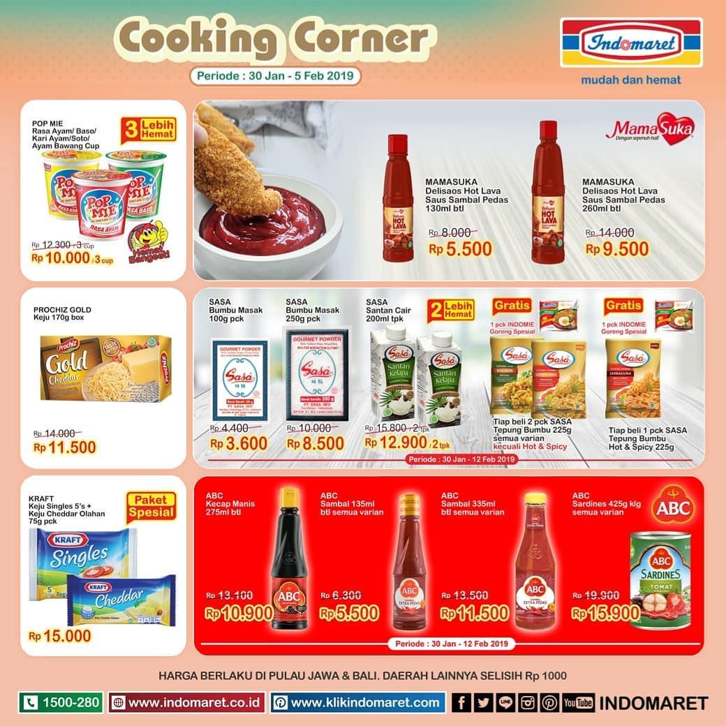#Indomaret - #Promo #Katalog Super Hemat Mingguan Periode 30 Jan - 05 Feb 2019