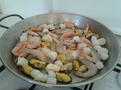 Cocina y listo fideu r pida - Cocina con sara paella ...