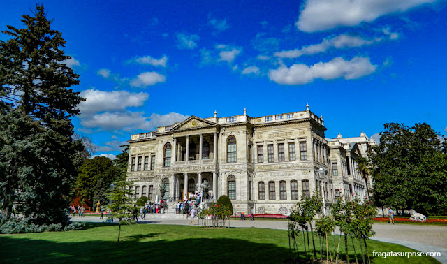Palácio de Dolmabahçe, Istambul, Turquia