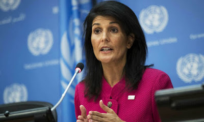 nikki haley inspirational woman 2017