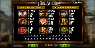AGEN JUDI SLOT GAMES THE TRUE SHERIFF BEST GAMERS OKE77.COM