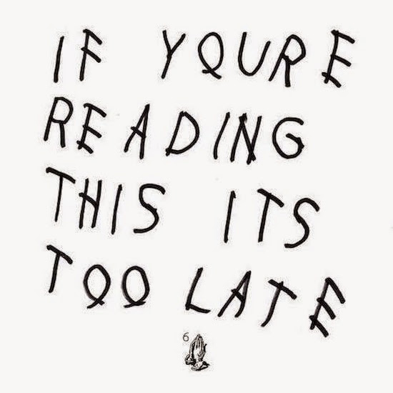 Ouça o álbum If You're Reading This It's Too Late do Drake